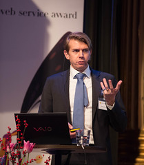 """""""Resultatet av 2013 års Web Service Award-undersökningar"""" – Pierre Du Rietz, VD/Chefsanalytiker Web Service Award"""