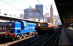 Anniversary train to Valley Heights (ajat18) Tags: road montreal 40 switcher alco mlw 4001 4520 sydneycentral sydneyterminal valleyheights heritageexpress flickrandroidapp:filter=none