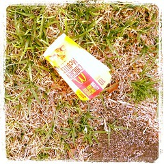 Macca's debris (Hecuba's Story) Tags: square squareformat cliftonhill lordkelvin hoddlestreet iphoneography instagramapp