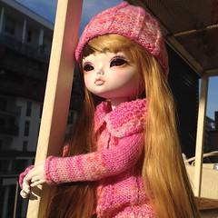 Eve (MimiJoy moments) Tags: pink doll mia bjd bambola balljointeddoll leeke leekeworld