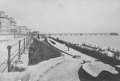 E01348 Grand Parade (East Sussex Libraries Historical Photos) Tags: pier seaside victorian eastbourne leisure bathing seafront 1860s eastsussex 1870s grandparade