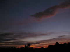 Last Light (Robx 34) Tags: light sunset black landscape minimal