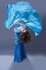 Nefabit (austinspace) Tags: portrait woman washington dance costume model spokane dancer move redhead exotic bellydance alienbees
