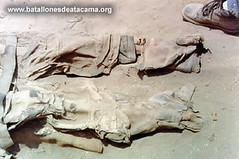 The Remains of Miguel Mena (historicalbodies) Tags: chile male peru soldier army clothing uniform military 1800s battle combat exhumed exhumation warofthepacific