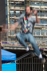 shack it, shack it, shack it, step to the right (Project-128) Tags: street uk england nikon brighton europe streetphotography rope slack slackline d800 slackrope slackwire project128