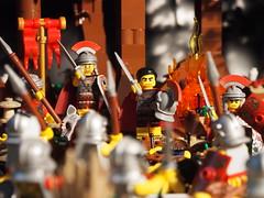 """Roma victor!!!"" (legophthalmos) Tags: lego roman maximus gladiator"