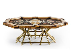 """The Unique """"All In"""" World Poker Tour Table's Unusual Success Story (interiordesign17) Tags: world art table woodwork tour furniture unique story poker tables unusual success worldpokertour akke in"""" """"all"""