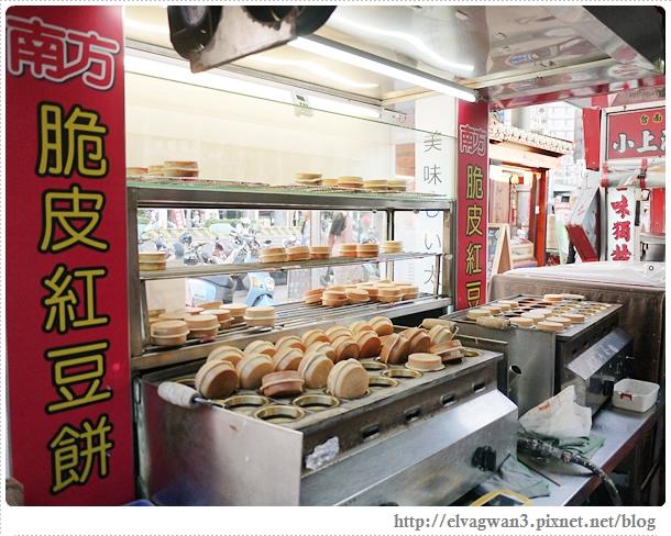 台南-南方公園-美食廣場-脆皮紅豆餅-創意多口味-6