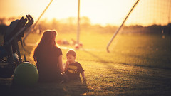 Spring Sunsets. (Joseph Kurtz Photography) Tags: sunset cute toddler mother son cinematic motherandson 135l canonef135mmf2lusm cinematicratio
