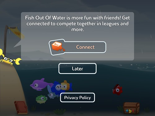 Fish Out of Water Social: screenshots, UI