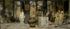 Lawrence Alma-Tadema - The vintage Festival (1871) (please also take a look at my favs ;-)) Tags: art musicians germany painting wine kunst hamburg hamburger vin procession fête fest mythology hambourg wein kunsthalle musicien musiciens mythologie 1871