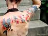 Mechanical bird tattoo (Lady_Merrigan) Tags: bird birds tattoo butterfly watercolor mechanical butterflies oiseau oiseaux steampunk tatouage papillons mécanique rouages