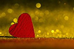 Macro Mondays - Heart *Explore* (AdaMoorePhotography) Tags: heart macromonday macromondays macro 105mm 105mmf28 red gold glitter nikon d7200