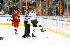 "Missouri Mavericks vs. Allen Americans, March 3, 2017, Silverstein Eye Centers Arena, Independence, Missouri.  Photo: John Howe / Howe Creative Photography • <a style=""font-size:0.8em;"" href=""http://www.flickr.com/photos/134016632@N02/32430577654/"" target=""_blank"">View on Flickr</a>"