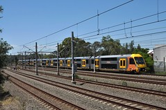 Far side at Blacktown (highplains68) Tags: ausaustralianswnewsouthwales rail railway railroad sydneytrains mainwest westernline blacktown waratah aset