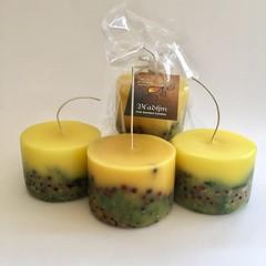 Making botanical candles today