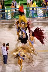 Where's the Party? (Rice Bear) Tags: brazil riodejaneiro carnaval carnival br riocarnival2016 carioca sambadrome sambadromo travel travelgram costumes feathers bikinis