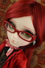Grell (pullip_junk) Tags: kuroshitsuji blackbutler grell grellsutcliff taeyang fashiondoll asianfashiondoll