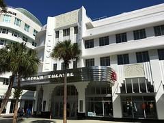 Lincoln Theatre Building Now H&M South Beach (Phillip Pessar) Tags: lincoln theatre building hm south beach miami art deco architecture sobe road mall movie theater cinema retail store roadside