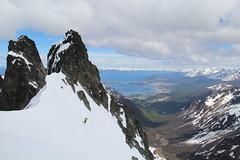 Skiing in Ushuaia, Tierra del Fuego. Foto Kim Havell