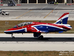 Royal Air Force --- British Aerospace Hawk T.1A --- XX278 (Drinu C) Tags: plane hawk aircraft military sony dsc mla royalairforce hawkersiddeley hx100v adrianciliaphotography