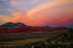 Red Rock Canyon at Sunset (mojomoni- Cocoa Bean Photo) Tags: photo image lasvegas nevada year 365 challenge 2012 366 monicamartin cocoabeanphotography