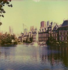 The Parliament (Joep Polaroid Photography) Tags: color polaroid sx70 cool thenetherlands instant impossible ndfilter intergral oldgen px680 joepimpossiblephotography joepgottemaker