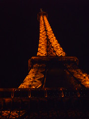 Eiffel Tower the night he proposed (Pamela R. Photography) Tags: summer vacation sky paris love closeup landscape photography eiffeltower adventure nighttime