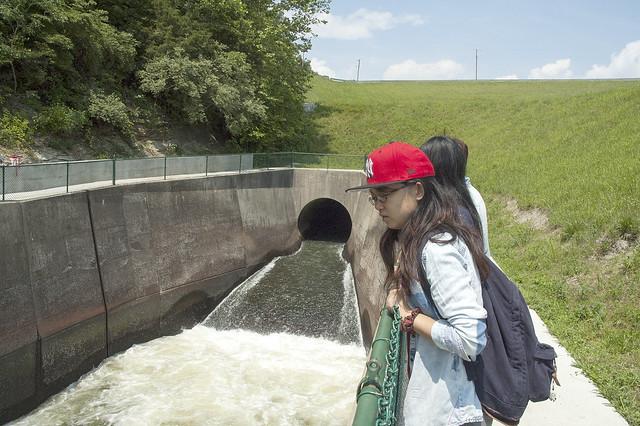 Lake Monroe Dam - June 2013