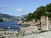 Plage Copacabana à Babin kuk (CORMA) Tags: copacabana pont dubrovnik croatie babinkuk