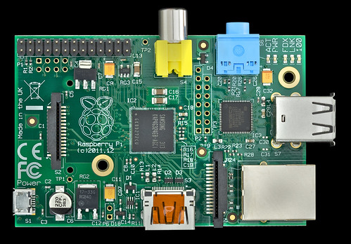Raspberry Pi rev B