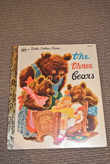 Vintage The Three Bears Little Golden Book (jadedoz) Tags: 3 vintage book golden three little bears books