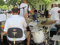 Drums with a view (polkabeat) Tags: church boys picnic czech polka ennis czechaholics polkabeat