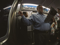 What awaits Ahead (RomanK Photography) Tags: street nyc newyorkcity people subway streetphotography streettogs