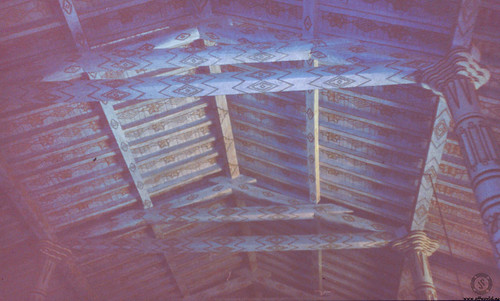 San Javier Church ceiling