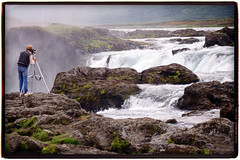 Photographe-chutes-Godafoss (denisbrumaud) Tags: trek iceland denis islande chutes volcan godafoss photographe brumaud