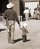 v&k (wildwrangler77) Tags: ranch horses cowboy western rodeo fatherandson littlecowboy bigcowboy