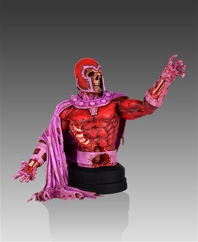 Gentle Giant – 殭屍萬磁王 Magneto Zombie 1/6 半身雕像