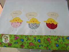 Pano de Copa...Pintinhos Alegres (Ma Ma Marie Artcountry) Tags: chicks pintinhos patchcolagem panodeprato panodecopa patchapliquee