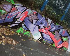 (e_alnak) Tags: streetart art paint pieces spray abbeyroad spraypaint piece aerosol flop bombing burners throwups merc throwies guerrillastreetart puregraffiti ealnak throweys