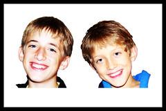 Photoshop newbie. 1st post (Maw*Maw) Tags: portrait boys smile photoshop mask selection overlay crop