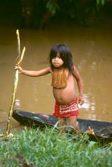 057 Slides-Amazon2 (Phytophot) Tags: child iquitos peru amazon tribe fierce river traditional tambo yagua tamshiyacu