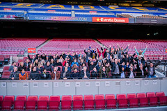 """The DTIC 2013 community at FC Barcelona • <a style=""""font-size:0.8em;"""" href=""""http://www.flickr.com/photos/95599160@N04/11082271025/"""" target=""""_blank"""">View on Flickr</a>"""