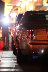 Golden Flash (  Musfirs) Tags: mall golden parking rollsroyce saudi british phantom luxury coupe royce dxb ksa 100ex 2013