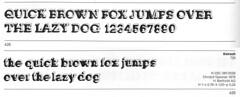 Knirsch specimen (Stewf) Tags: 3d font typeface escheresque berthold phototype typespecimen christofgassner bertholdfototypes