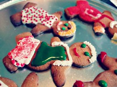 cookie (manu_propria) Tags: red white men green boys bread ginger yummy colorful cookie yum bokeh gingerbread tasty delicious eat amateur decorate picmonkey:app=editor
