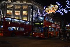 London lights (Chiara Ewigkeit*) Tags: christmas city blue red streets bus tree london night lights republic market chocolate 5 n noel banana via shops luci merry chanel albero natale londra candels candele mercatini negozi ghirlande chaneln5