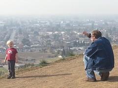 Owen, Casey : New Year's Day 2014 : Dry Creek Regional Park (marymactavish) Tags: california park casey drycreek hiking january hills drought owen newyearsday eastbayhills 2014 ebrpd drycreekregionalpark eastbayregionalparks flickrandroidapp:filter=none january12014