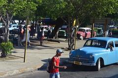 Classic Cuban Cars in Havana (Corvair Owner) Tags: auto old cars car truck vintage automobile december antique havana cuba historic motorcycle cuban travelers hoosier 2013