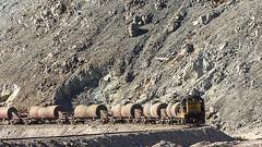 Empty tanks (arcadia1969) Tags: chile tren ferronor mountainrailroading portrerillos